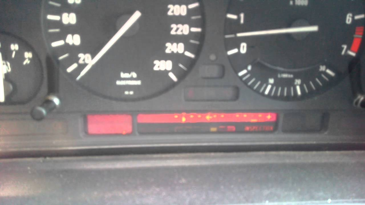 bmw e34 m50 приборка high. bugs of dashboard