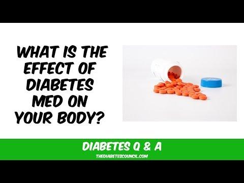 What Do Diabetes Meds Do To My Body?
