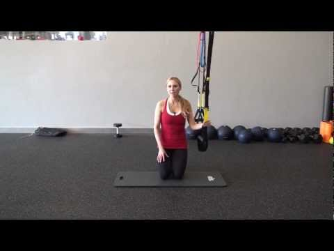 Marzia Prince TRX Crunch Workout