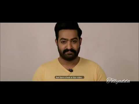 Jr NTR video on women security for Hyderabad cyber security // Beware of cyber crimes // Tollyadda