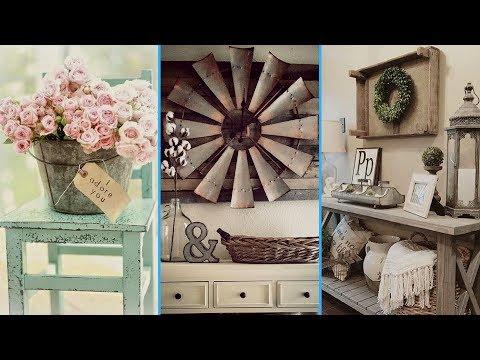 💙DIY Vintage & Rustic Shabby Chic Style Room Decor ideas ❤| Interior Design// Flamingo Mango💙
