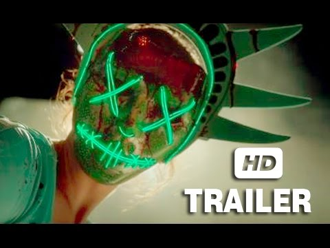 The Purge: Election Year Official Trailer - 2016   Frank Grillo - Elizabeth Mitchell Movie HD