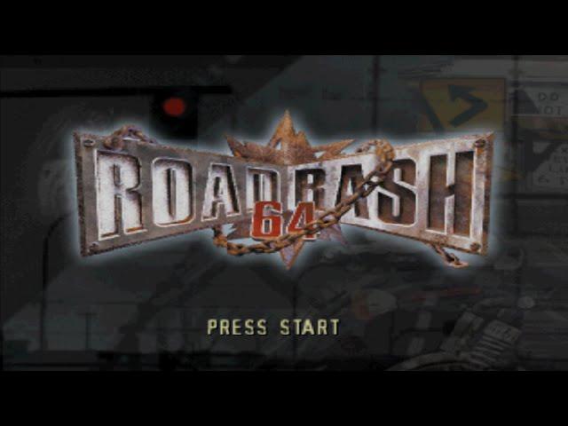 Nintendo 64 Longplay [006] Road Rash 64