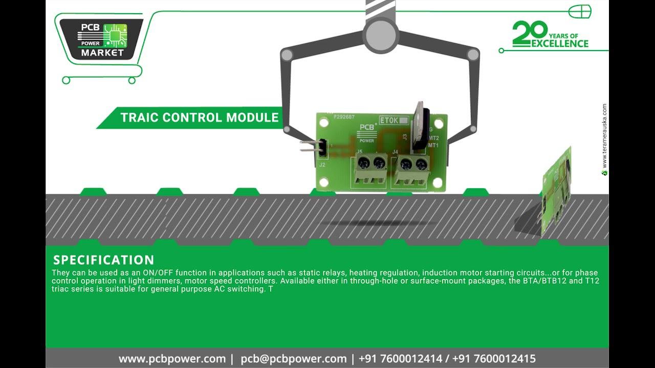 Traic Control Module Youtube Ac Motor Speed Circuit