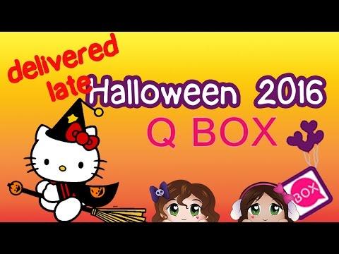 Spooky late but still CUTE! ~ Halloween Q Box...