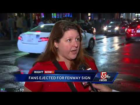 Fans on racist sign: Boston is about love, not that