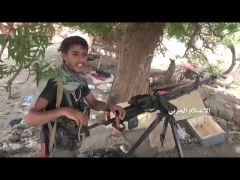 WAR IN YEMEN 29 06 2018 HOUTHIS IN ATACK ON PRO SAUDI ARMY