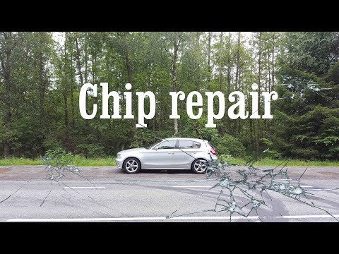 How to Repair a Windshield Crack or Chip for only 3 €🤑