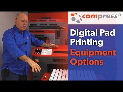 Digital Pad Printing Equipment Options