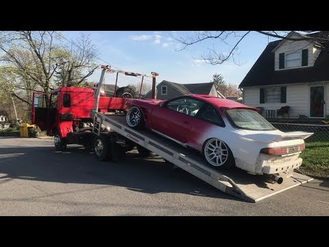 I BOUGHT A TOW TRUCK FOR MY SLAMMED CAR!