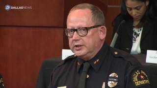 Dallas police talk about investigation of July 7th police shooting
