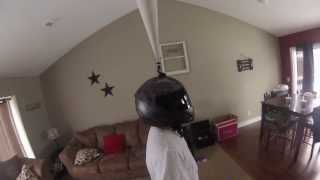 Gopro Helmet 360 degree diy mount