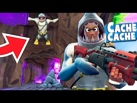 UNE CACHETTE 100% INTROUVABLE ! (cache cache fortnite)