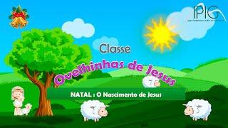 EBD Infância  • Classe Ovelhinhas de Jesus • Natal : O nascimento de Jesus