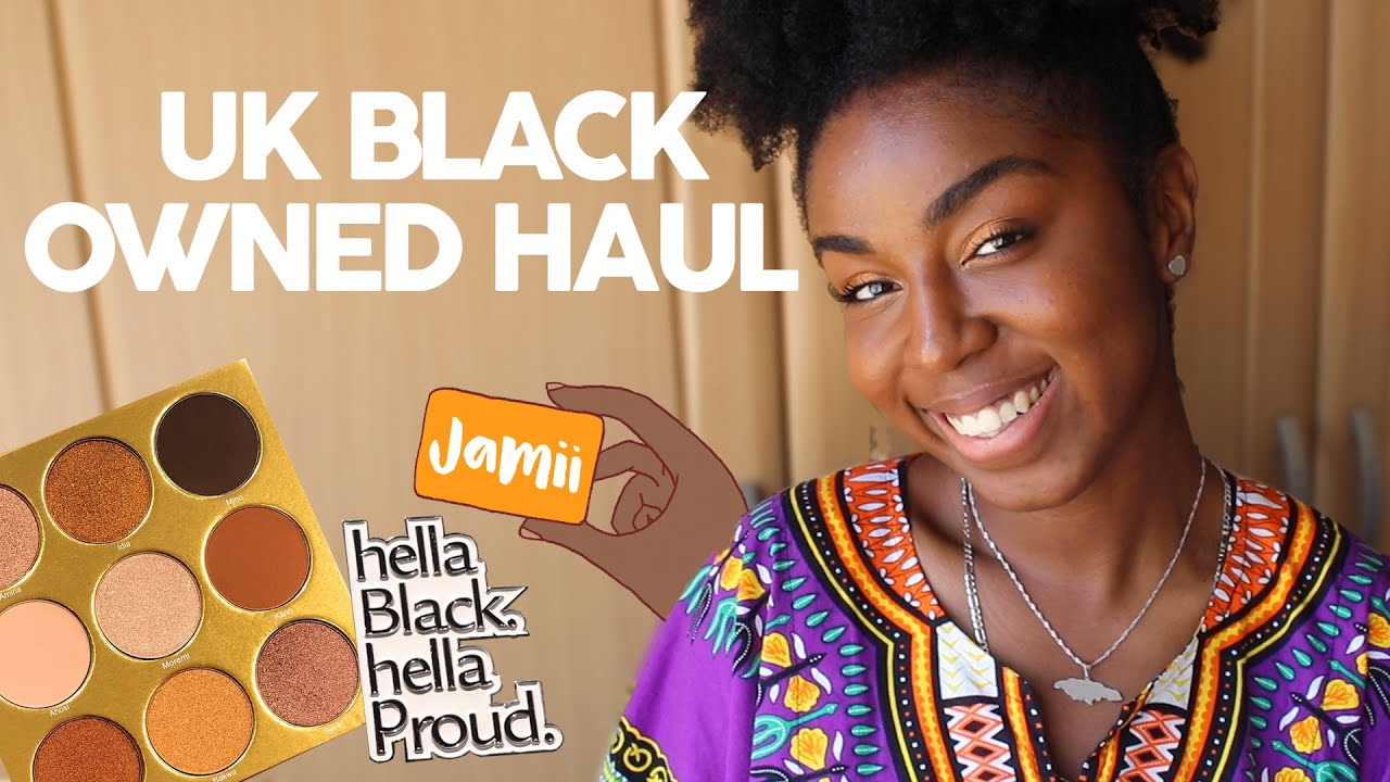 UK Black Owned Brands & Businesses Haul ✊??