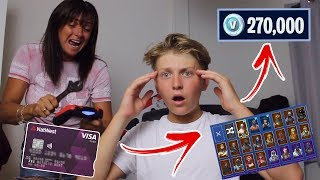 Kid Spends $1200 On FORTNITE With Mum's CREDIT CARD Season 7.... [MUST WATCH]
