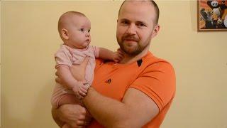 Динамическая гимнастика для грудничков 5 месяцев. Как держать равновесие(Динамическая гимнастика для малышей: упражнения для развития равновесия и стимулирования раннего хождени..., 2016-02-20T19:17:24.000Z)