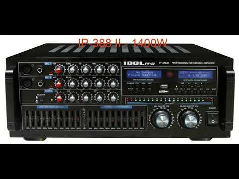 Idolpro & Idolmain  Professional Karaoke Mixing Amplifier