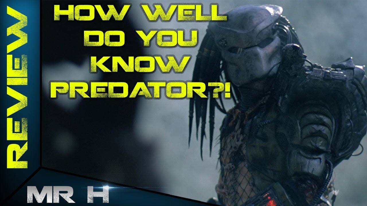 The Ultimate Predator QUIZ