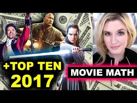 Jumanji tops The Last Jedi, Top Ten 2017 Box Office Movies
