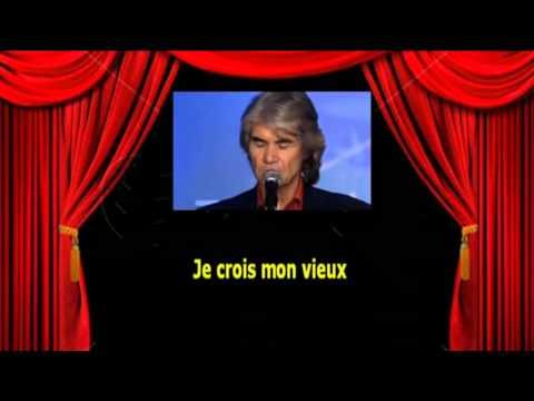 Karaoké Daniel Guichard  -  Mon vieux
