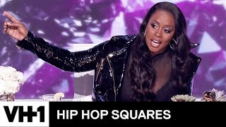 Remy Ma Judges Tiffany Haddish & Michael Rapaport's Rap Battle | Hip Hop Squares
