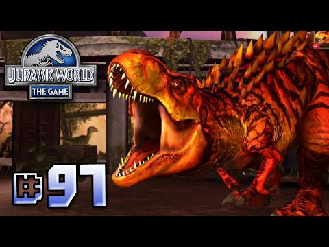 T.Rex Fights Back!    Jurassic World - The Game - Ep 97 HD
