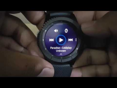 How to Change Music source from Gear or Phone on Samsung Gear S3