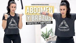 Ejercicios para abdomen perfectos y brazos tonificados