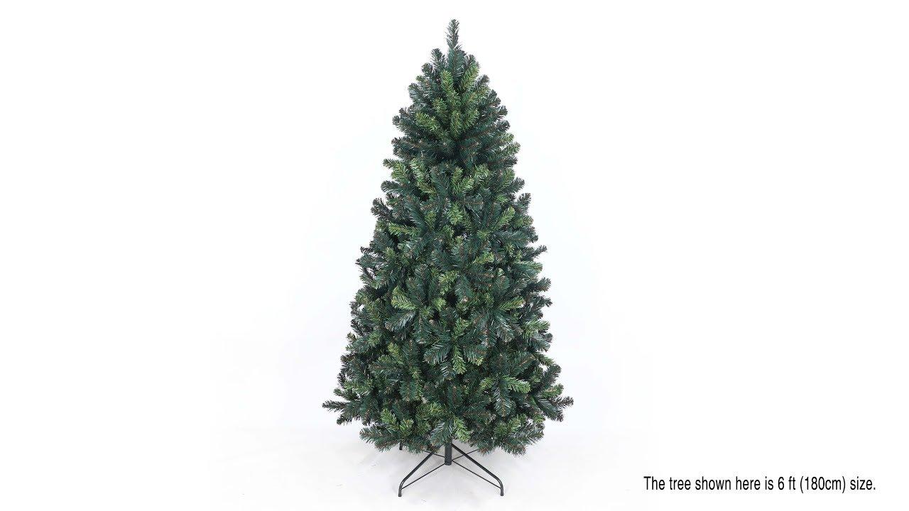 Eco-Friendly Oncor Montana Spruce Christmas Tree Assembly (SKU ...
