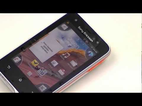 English: Sony Ericsson Xperia active review