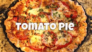 Fresh Garden Tomatoe Pie