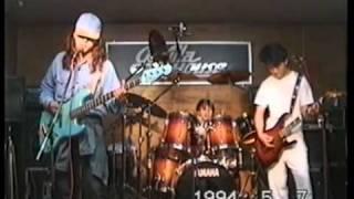フェンスのコピーバンド。 1994年5月7日、ライヴ前日のリハ風景。