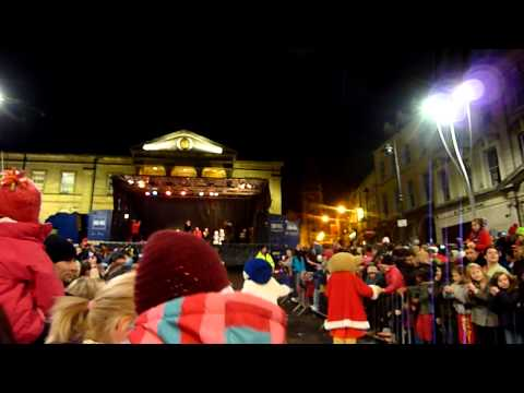 Nathan Carter in Omagh (Christmas Lights 2012)