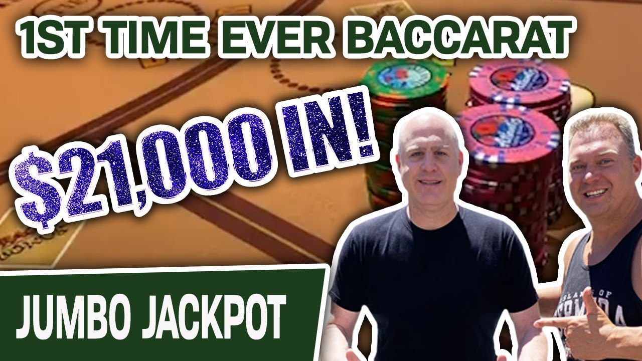 🥇 $21,000 FIRST-TIME EVER High-Limit Baccarat 🃏 Bringin' a RINGER