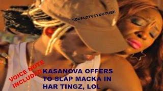 KASANOVA OFFER MACKA DIAMOND A BACKAZ (VOICE NOTE)