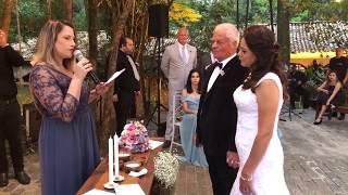 Cerimônia de casamento inglês X português inesquecível