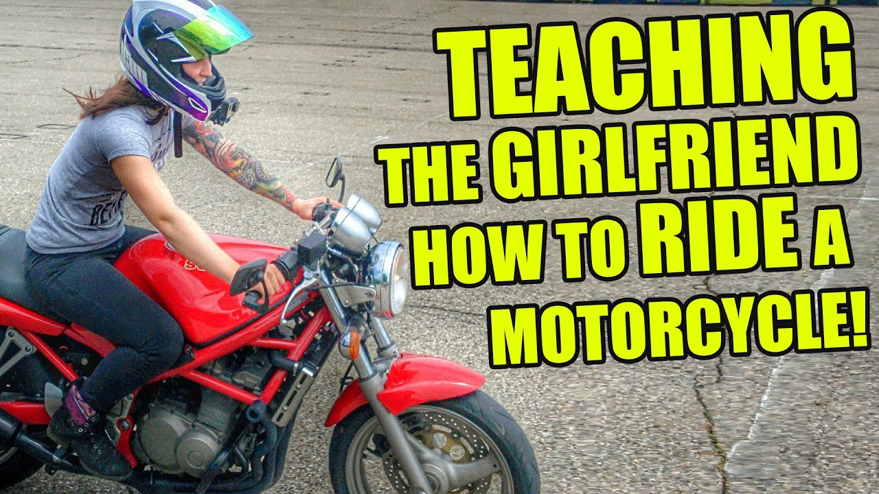 How to ride a motorcycle 62