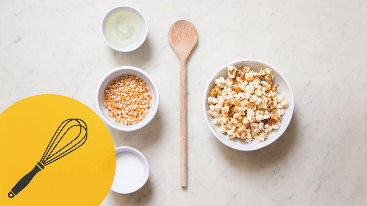 popcorn süß selber machen