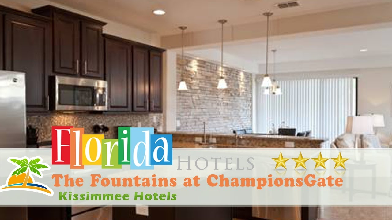 The Fountains at ChampionsGate - Kissimmee Hotels, Florida - YouTube