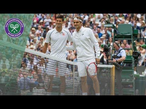 Roger Federer vs Novak Djokovic - best points at Wimbledon