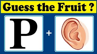 Find the fruit quiz 5    Brainteasers   Riddles   Puzzle game   Timepass Colony