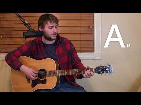 Hurt - Johnny Cash - Guitar Lesson - Beginner / Intermediate - Intro / Verse / Chorus