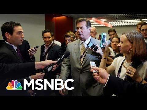 Donald Trump Chair's Russia Ties Raise New Questions | Rachel Maddow | MSNBC