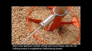 Der Sonnen-Pellet Maulwurf - Die clevere Lagertechnik für Holzpellets
