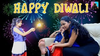 moral story diwali special l Hindi Stories l Anu And Ayu Twin Sisters