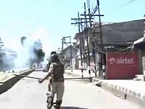 Protest, Clashes and Firing in Srinagar