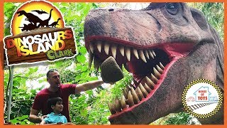DINO ADVENTURE at Dinosaurs Island Clark Philippines | House of Toys