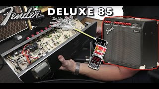 What's Inside a Fender Deluxe 85? - Opening Up Radiohead's Tone