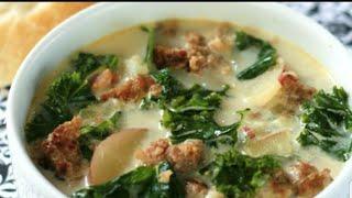 Keto Zuppa Toscana (Low carb recipe) Olive Garden